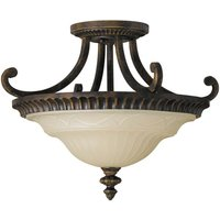 Special semi flush ceiling lamp Drawing Room