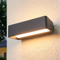 Logan   simple LED wall lamp for outdoors  IP65