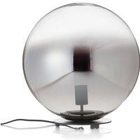 Sch ner Wohnen Mirror table lamp  black    40 cm