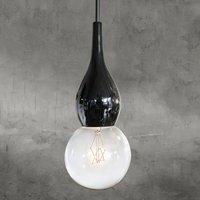 next Blubb mini   designer pendant light black