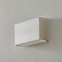 BEGA 50072 LED wall light 3 000K 18cm steel 1630lm
