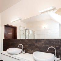512 LED mirror light  3 000 K  58 cm  white