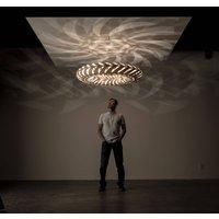 david trubridge Maru hanging lamp 110 cm natural