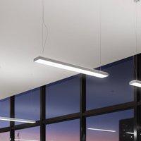 Taris LED pendant light DALI EB dimmable 123 cm