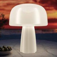 The BOLETI lamp  LED designer light  solar panel