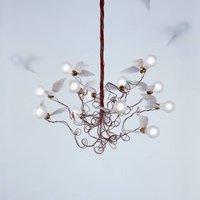 Ingo Maurer Birdie   LED hanging light  red
