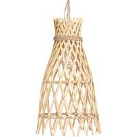 632 hanging light made of wood