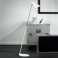 Elegant flexible floor lamp Liam white