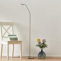 Adjustable LED floor lamp Zenith  dimmer  steel