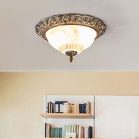 Teresa ceiling light with a decorative edge
