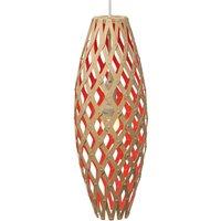 david trubridge Hinaki hanging 50 cm bamboo red