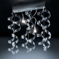 Attractive hanging light Crystal 2 bulb