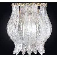 Petali wall light with Murano glass 19cm