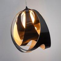 Modern GOCCIA DI LUCE hanging light  black