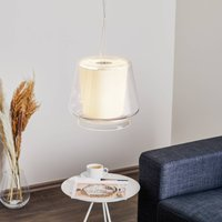 Casablanca Aleve S   elegant glass pendant light