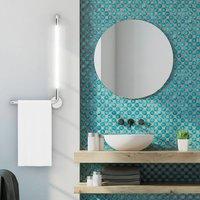 Tubus LED bathroom wall light  right facing