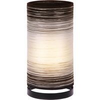 Julie table lamp wrapped in threads  white