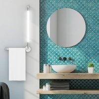 Tubus LED bathroom wall light  left facing