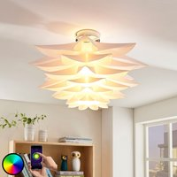 Lindby Smart LED-Deckenleuchte Lavinja, RGB