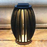 Pastek LED solar light made of teak wood  sensor
