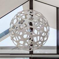 david trubridge Coral hanging lamp   60 cm white
