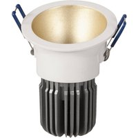 Toodle LED downlight round asymmetrical  gold