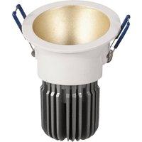 Image of LED-Einbaulampe Toodle rund asymmetrisch, gold
