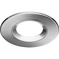 Round frame for 68 mm opening  aluminium