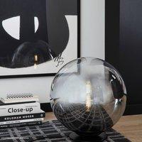 Sch ner Wohnen Mirror table lamp  black    30 cm