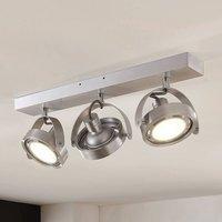 LED spotlight Munin  dimmable  alu  three bulb