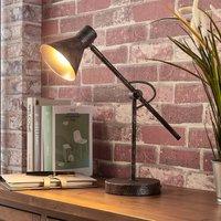 Rust coloured LED table lamp Zera  Easydim