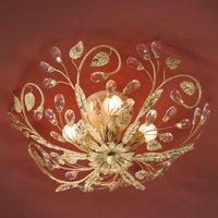 Verdi ceiling light in a Florentine style  LEDs