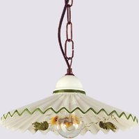 Rusticana hanging light with chain