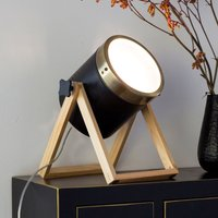 Tim table lamp  black and gold
