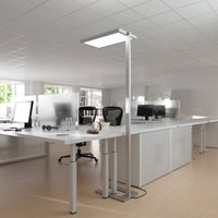 Oli workplace floor lamp with LEDs and dimmer