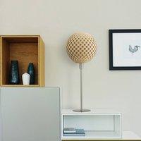 Flechtwerk Kugel table lamp  beige