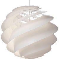 LE KLINT Swirl 3 large   hanging light  white