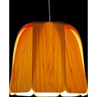 LZF Domo hanging light yellow