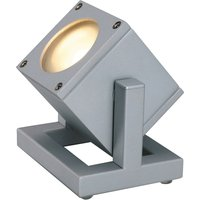 SLV Cubix I outdoor spotlight IP44  silver grey
