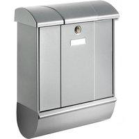 Buzón Olymp, compartimento para periódico, plata
