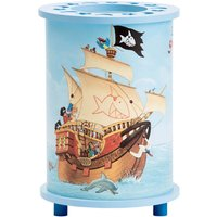 Children s table lamp with a Capt n Sharky motif
