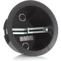 Eutrac housing for surface point outlet black