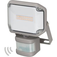 AL LED outdoor spotlight with IR sensor IP44 10 W