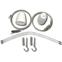 Cable suspension two point set