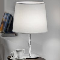 Amsterdam fabric table lamp with pull switch