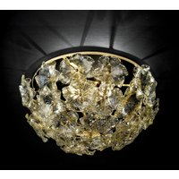 Flowery ceiling light Lotvs made of Murano glass