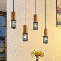 Lindby Parino hanging light  four bulb