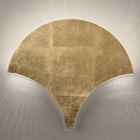 Exceptional LED wall light Palm  gold