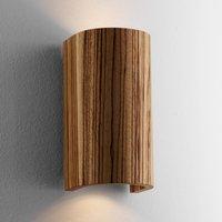 Beautiful Wall Light Tube Zebra Wood 17 5 cm