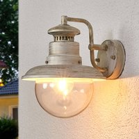 Artu outdoor wall light with an antique look
